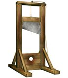 Fantasy guillotine Royalty Free Stock Photography