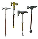 Fantasy hammers Royalty Free Stock Photography