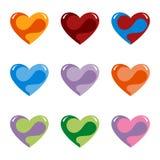 Fantasy Hearts Stock Image