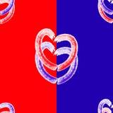 Fantasy hearts Stock Photography
