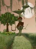 Fantasy House stock illustration