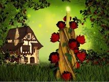 Fantasy house Stock Photography