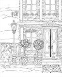 Fantasy house facade Royalty Free Stock Photo