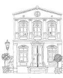 Fantasy house facade Royalty Free Stock Photography