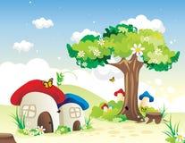 Fantasy house vector Stock Photo