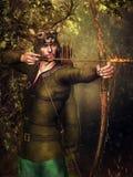 Fantasy hunter Stock Images