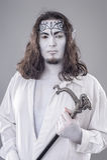 Fantasy Illusionist Performer Royalty Free Stock Image