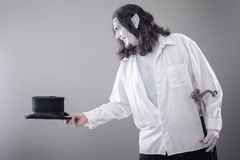 Fantasy Illusionist Performer Bowing Stock Photos