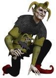 Fantasy jester Stock Image