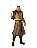 Fantasy knight 2 Royalty Free Stock Images