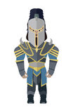 Fantasy Knight Character Vector Illustration. Stock Photography