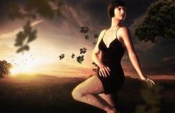 Fantasy Lady Royalty Free Stock Photo