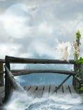 Fantasy lamdscape Stock Image