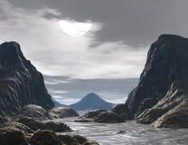 Fantasy land Royalty Free Stock Image