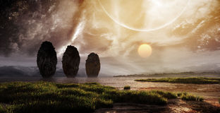 Fantasy Landscape Stock Photo