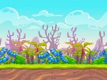Fantasy  landscape Stock Photo