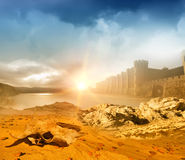 Fantasy landscape Royalty Free Stock Photos