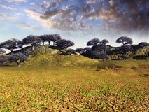 Fantasy landscape Stock Photography