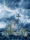 Fantasy landscape Stock Image