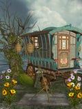 Fantasy landscape Royalty Free Stock Photos