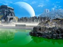 Fantasy landscape Royalty Free Stock Images