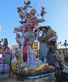 Fantasy Of Las Fallas Royalty Free Stock Photo