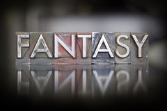 Fantasy Letterpress Royalty Free Stock Photo