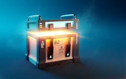 Free Fantasy Loot Box Futuristic Mystery Case Stock Photo - 184202050