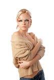 Fantasy make-up Stock Images