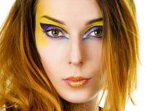 Fantasy make-up Stock Photos
