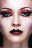 Fantasy make up Royalty Free Stock Photos