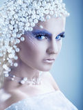 Fantasy make-up Royalty Free Stock Photos