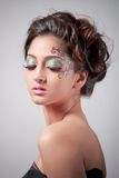 Fantasy makeup Stock Images