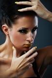 Fantasy makeup Royalty Free Stock Photos