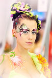 Fantasy makeup Stock Photos