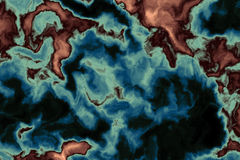 Fantasy Map II. Fantasy Map + computer generated vector illustration