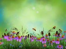Fantasy meadow Stock Photography