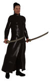 Fantasy modern day swordsman Stock Photography