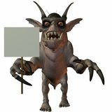 Fantasy Monster Royalty Free Stock Photography