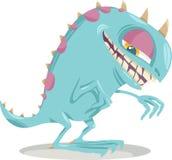 Fantasy monster cartoon illustration Royalty Free Stock Image