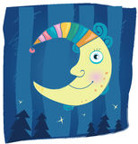 Fantasy moon Stock Image