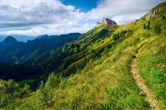 Fantasy mountain Stock Images