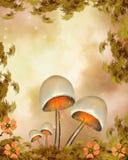 Fantasy mushroom Royalty Free Stock Image
