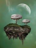 Fantasy mushroom Stock Photography