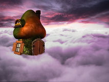 Fantasy Mushroom House Royalty Free Stock Photo