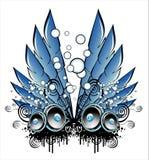 Fantasy Music Background Stock Image