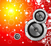 Fantasy music background Royalty Free Stock Photos