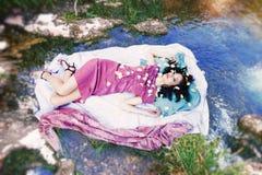 Fantasy nymph Royalty Free Stock Photo