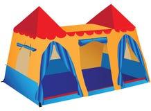 Fantasy palace play tent Stock Photography