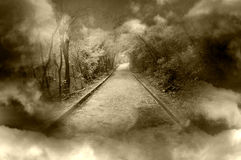 Fantasy pathway Stock Images